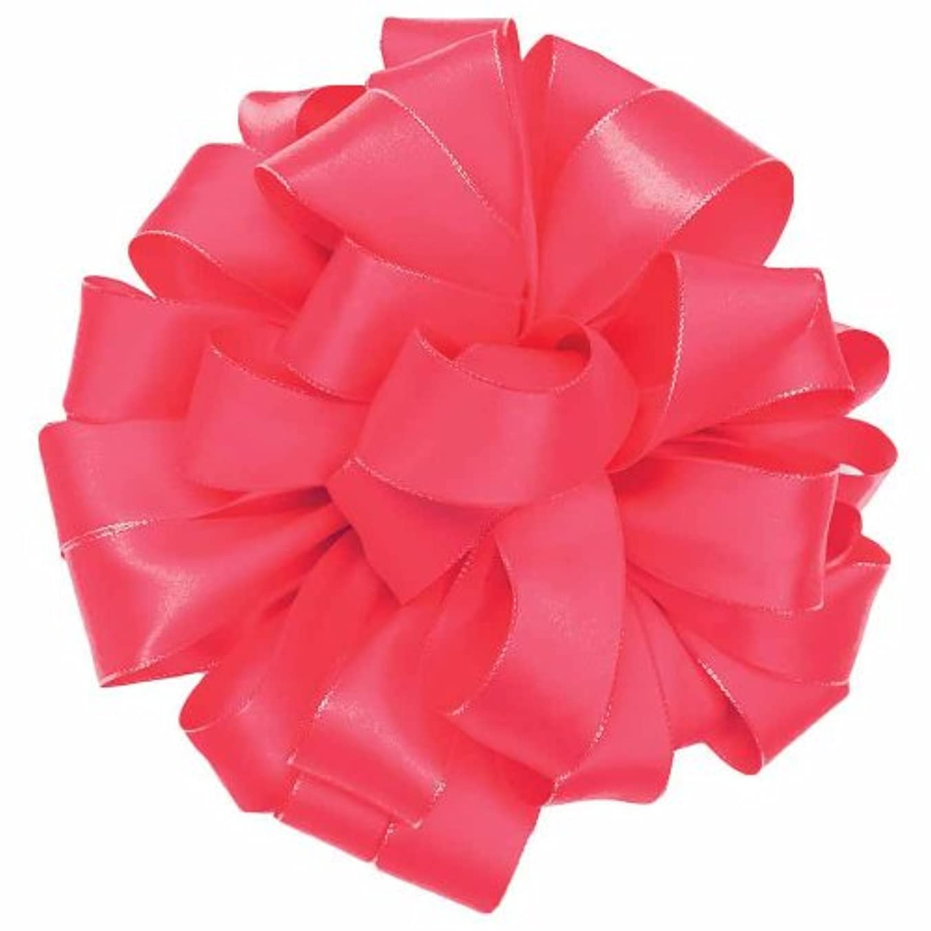 Offray Olivia Craft Ribbon, 1-1/2-Inch by 25-Yard, Neon Pink