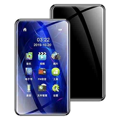 ZEIYUQI Verlustfreier HiFi High Fidelity Sound Mp3 Mit NXT Lautsprechern,Bluetooth 5.0,Touchscreen,Verlustfreier Musik Player,Walkman,Kleiner Tragbarer MP4 Videoplayer,Typ-C,4GB