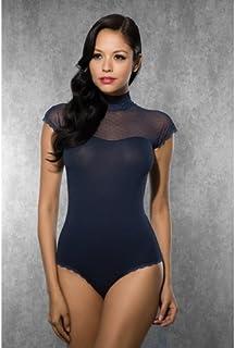 Doreanse Ladies Body with Mesh Fabric, Dark Blue, Medium, 122g