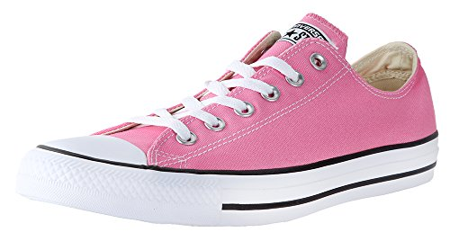 Converse Unisex Chuck Taylor All Star Ox Low Top Classic Pink Sneakers - 7 B(M) US Women / 5 D(M) US Men