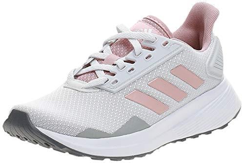 Adidas Duramo 9, Zapatillas para Correr Mujer, Dash Grey Pink Spirit Footwear White, 42 EU