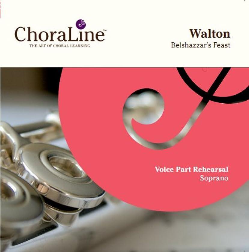 Walton Belshazzar's Feast SOPRANO Rehearsal CD