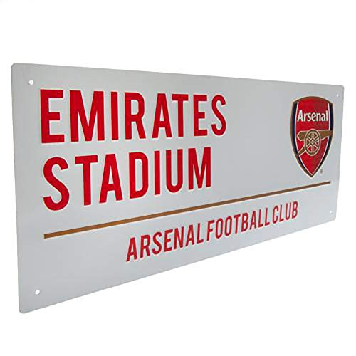 official licensed arsenal fc metal
