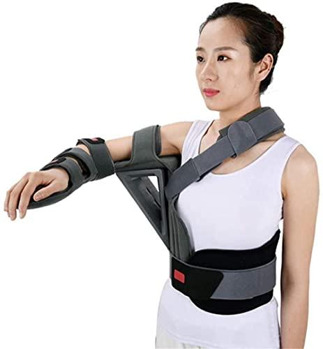 Sling de brazo ergonómico Correa de apoyo médica para hombres y mujeres abducción de hombro ombligo ortesis de huida esling ortesis ajustable ortesis inmovilizador para huesos fracturados hombro