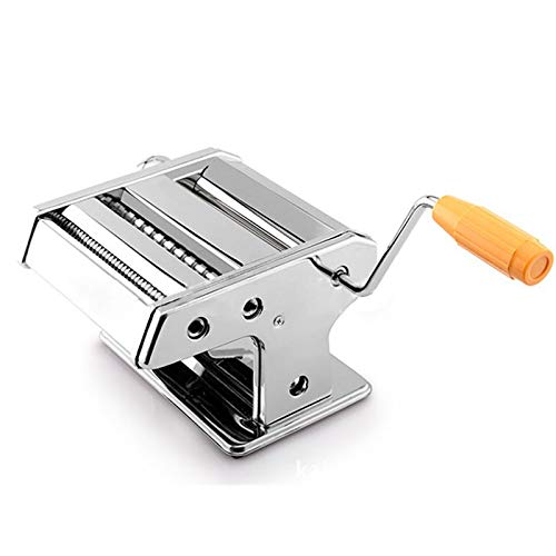 Wonduu Máquina De Pasta Fresca Manual | Ky-901 Diferentes Tipos de Pasta Fresca | Acero Inoxidable