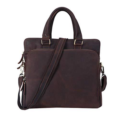 SZP Tragbarer Briefkasten, Business Men es Bag, Men ' s Ultra-dünne Tablet Bag, Shoulder Bag, Shoulder Bag, Large Capacity