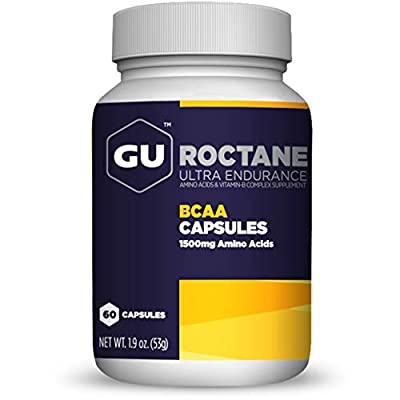 Roctane Ultra Endurance BCAA (1500mg) 60 caps from Gu Energy