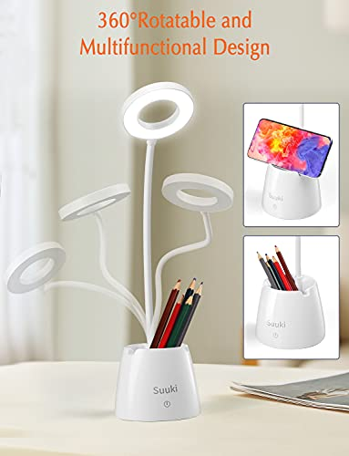 SUUKI Lámparas de escritorio