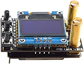 AKK Diversity RX 5.8G 48CH FPV Receiver Module Built-in Low Power Buzzer SMA Female Diversity Receiver with Two RX Modules Compatible with FatShark Goggles