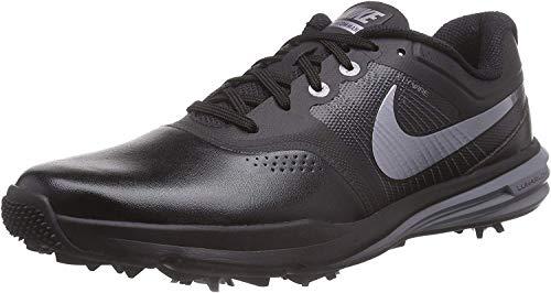 Nike Nike Herren Lunar Command Golfschuhe, Schwarz (black / Metallic Cool Grey / Cool Grey), 45.5 EU