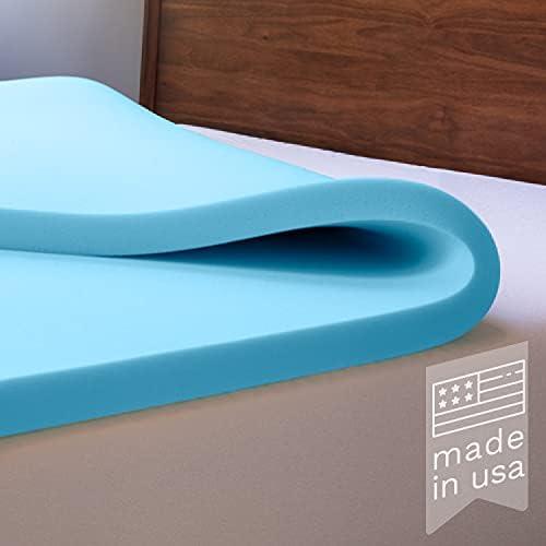 Top 10 Best advanced sleep solutions gel memory foam topper Reviews