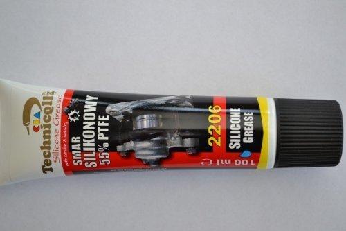 Technicqll 100 ML Lubrifiant de Montage Graisse Silicone 55% PTFE Disques de Frein & Blocs, Joints Caoutchouc, Bougies d'allumage de Haute qualité 100 ML Neuf