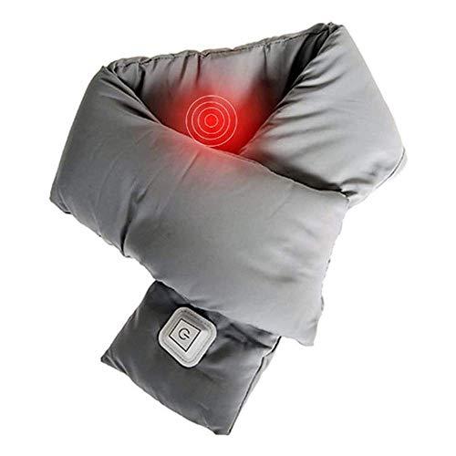 BBGSFDC USB Beheizte Schal, Heizkissen, Graphene Heizung Schal, DREI-Gang-Steuerung Temperatur, Unisex, geeignet...