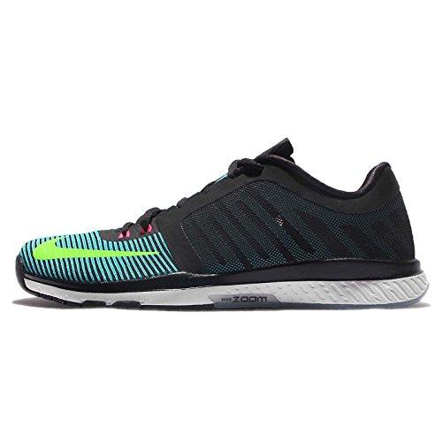 Nike Herren Zoom Speed TR3 Gymnastikschuhe, Schwarz Schwarz Schwarz Elctrc Grn GMM Bl Hypr Pnk, 40 EU