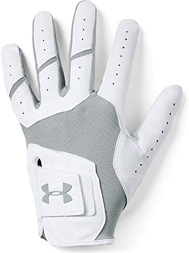Under Armour Men s UA Iso Chill Golf Gloves Steel 035 Steel Left Hand Large product image