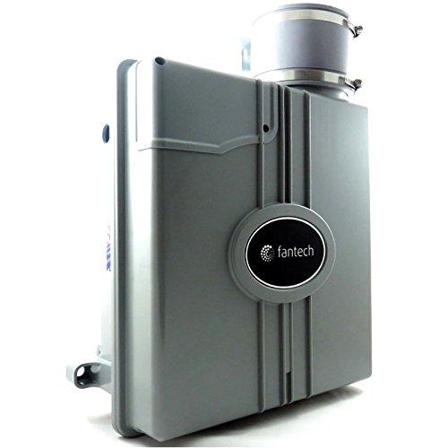Fantech HP 190SLQ Slimline Radon Fan - Includes Noise Reduction Mounting System - 159 CFM