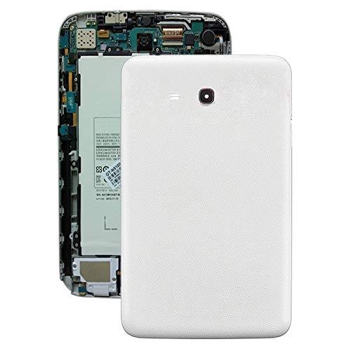 Dongdexiu Accesorios para Celular Tapa Trasera de batería for Galaxy Tab 3 V T116 (Color : Blanco)