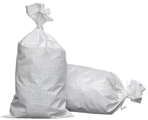 eSandbags - Empty Polypropylene Sand Bags w/Tie