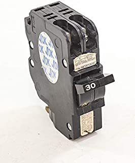1- FEDERAL PACIFIC FPE NC230 30 AMP, 2 POLE, THIN CIRCUIT BREAKER STAB-LOK SPACE 30A 2P …