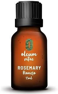 OLEUM VITAE Aceite Esencial 100% Puro de Romero (Rosmarinus