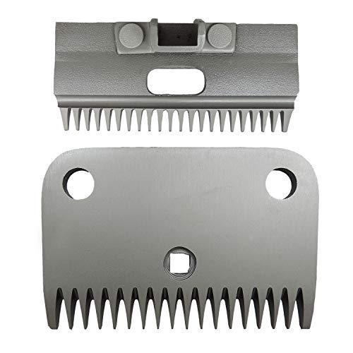 Eider Schermessersatz passend für Hauptner Schermaschine - 22/18 Zähne - hergestellt aus Spezial-Stahl
