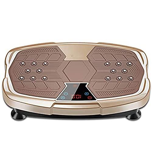 Afang Vibrationsplatte-Powerplate Trainingsgerät, Ganzkörper-Workout Vibrationstrainer Perfekt Fettverbrennung, Abnehmen Formen Von Muskeln