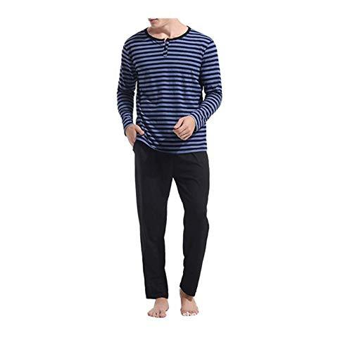 Pantalones Caseros A Cuadros Sueltos Y Cómodos para Hombres De Otoño Pijamas Suaves De Moda Simple Pijamas Conjunto Informal De 2 Piezas para El Hogar