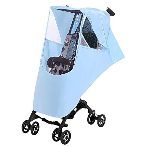 Parapioggia universale per passeggino, per passeggino, protezione UV, con tettoia, antivento, antipolvere, tettoia impermeabile