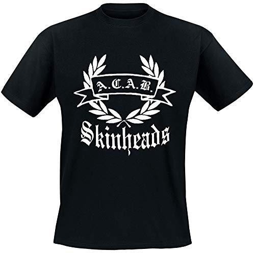 ACAB Skinheads T-Shirt, schwarz, Grösse M