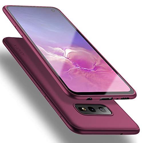 X-level für Samsung Galaxy S10e Hülle, [Guardian Serie] Soft Flex Silikon Premium TPU Echtes Telefongefühl Handyhülle Schutzhülle Kompatibel mit Galaxy S10e 5,8 Zoll Case Cover - Weinrot