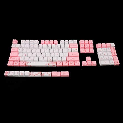 ABBY -J OEM PBT Cherry Blossom Keycap Mechanical Keycaps Keycaps Mechanical Keyboard