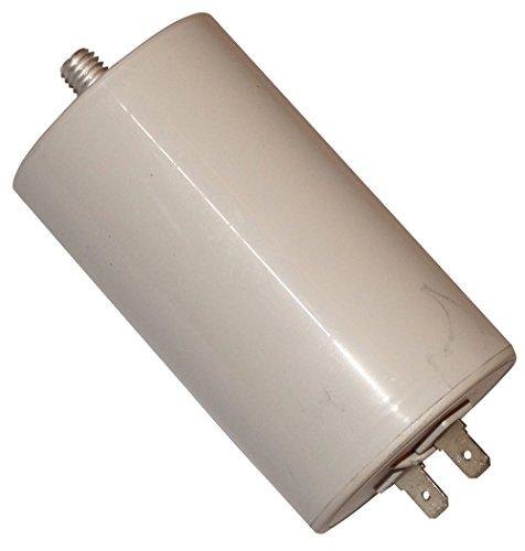 Aerzetix: Condensatore permanente di lavoro motore. Capacità 32µF 450V con terminali 6,3mm C10518