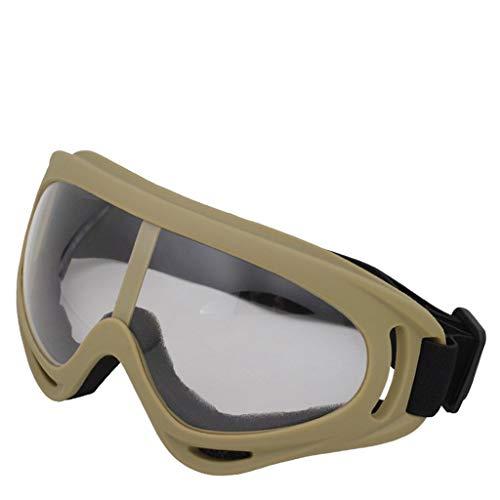 HOTPINK1 Gafas protectoras transparentes a prueba de salpicaduras, 2