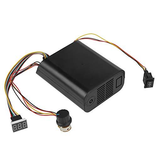 10-55V DC Módulo de Control del Controlador de Velocidad del Motor 40A DC Interruptor del Controlador de Velocidad del Motor Pantalla Digital Control de Velocidad de CC CW CCW...