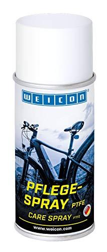 WEICON Pflegespray PTFE 150 ml | Fahrrad-Pflegespray als Reiniger, Korrosionsschutz, Schmiermittel und Kontaktspray