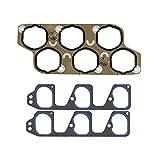 Saturn Vue Air Intake Parts - DNJ IG3139 Intake Gasket for 2004-2012 / Buick, Cadillac, Chevrolet, Pontiac, Suzuki/Aura, CTS, Equinox, LaCrosse, Malibu / 2.8L, 3.6L / DOHC / V6 / 24V / LAU, LY7, N36A / VIN 4, VIN 6, VIN 7, VIN T