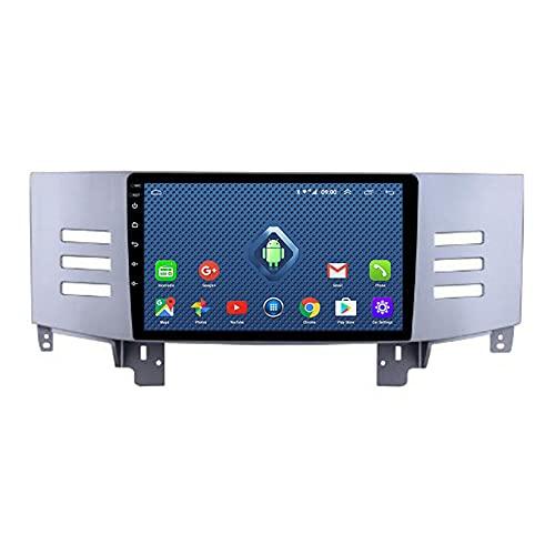 ADMLZQQ Android 9 Pulgadas Unidad De Cabeza EstéReo De Radio De 2din para Toyota Reiz 2005-2009 GPS NavegacióN Touch Pantalla Reproductor Multimedia con Control De Volante/BT WiFi FM,4GWifi 2+32