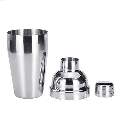 TEET Cocktail Shakers 550ML Stainless Steel Cocktail Shaker Mixer Maker Drink Holder Bar Bartender For Beginner Or Pro Bartender