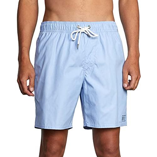 RVCA Mens Opposites Elastic 2 Boardshort - Oasis Blue | Large