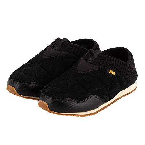 [テバ] スリッポン レディース エンバーモック シェアリング W Ember Moc Shearling スニーカー 靴 シューズ 1103271-BLK ブラック BLACK おしゃれ アウトドア 防寒 [並行輸入品]