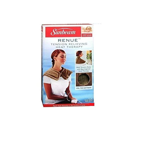 Sunbeam Renue Relieving Heat Therapy Pad for Neck and Shoulders
