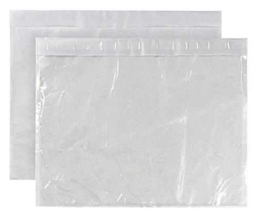 Begleitpapiertasche C4 (324x229mm) haftklebend Polyethylen 50my 500 Stück