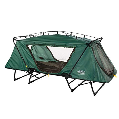 Kamp-Rite Oversize Tent Cot, The Leader in Off-The-Ground Camping, Rainfly and Carry Bag Included, Holds 350lbs, Sets up in Seconds