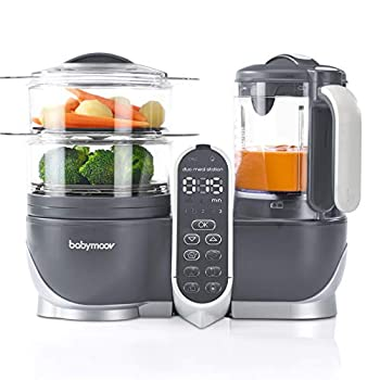 Duo Meal Station Food Maker 6 in 1 Food Processor with Steam Cooker Multi-Speed Blender Baby Purees Warmer Defroster Sterilizer  Nutritionist Approved