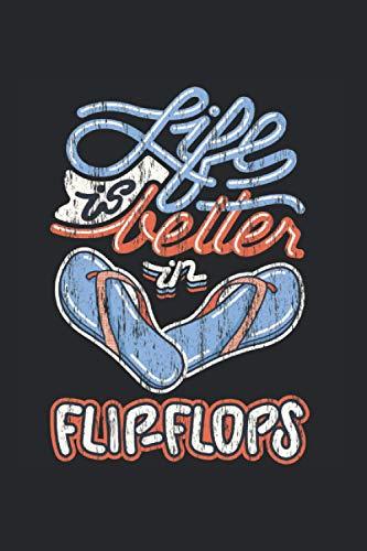 Life Is Better In Flip-Flops Funny Summer Strand Urlaub Kalender 2021: Urlaub Kalender 2021 Geschenk Lustig / Urlaub Taschenkalender 2021 / ... November 20 bis Dezember 21 1 Woche pro Seite