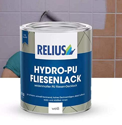 RELIUS HYDRO-PU FLIESENLACK 0,750 Pintura poliuretánica para azulejos porcelánico gres