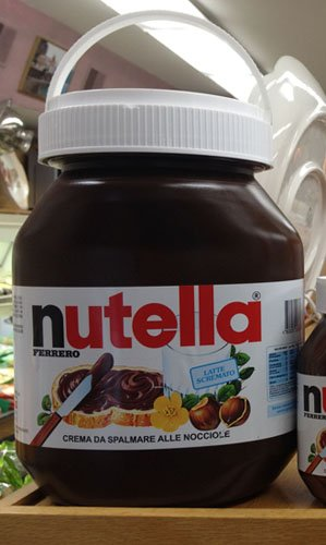 Ferrero Nutella Made in Italy - Giant Jar 11 lbs