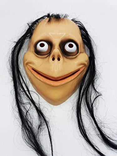 Máscara de Halloween de Momo Careta de Miedo Terror para