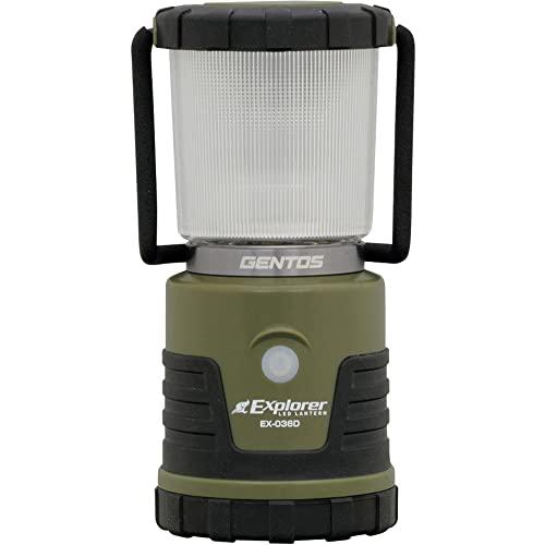 GENTOS(ジェントス) LED ランタン 【明るさ450ルーメン/実用点灯18-255時間/3色切替/防滴】 エクスプローラ...