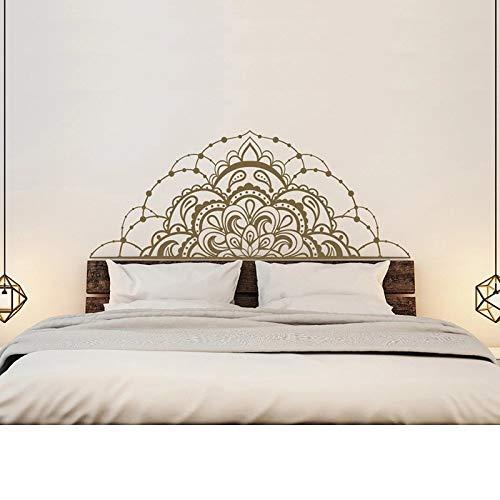 Mandala vinilo dormitorio pegatinas de pared mandala coche mandala ventana cabecera hogar pared del dormitorio